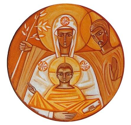 Medalhão da Sagrada Família
