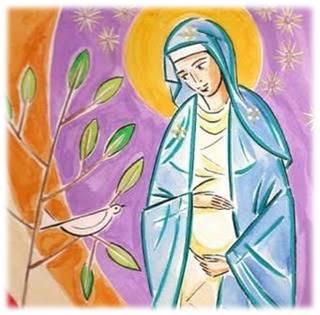 Nossa Senhora grávida