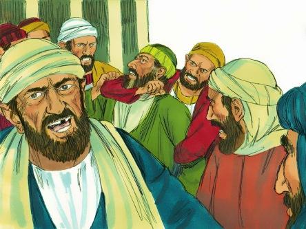 Paulo é preso no templo em Jerusalém (5)